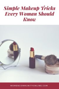 Simple Makeup Tricks Every Woman Should Know