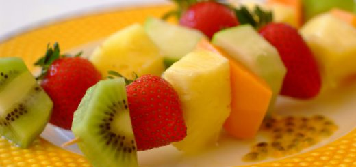 Fruit Kebabs Recipe