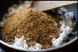 Rice Coconut Modak Recipe stuffing