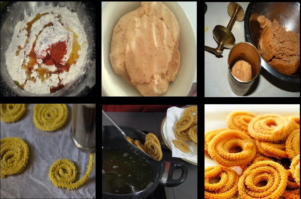 Diwali Sweets and Snacks Recipes RICE CHAKLI
