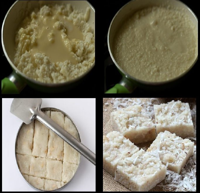 Diwali Sweets and Snacks Recipes COCONUT BARFI