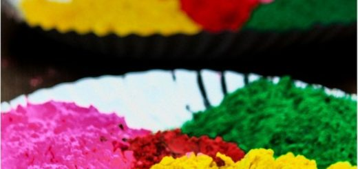 Homemade Holi Color Powder