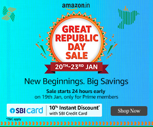 Great Republic Day Sale amazon